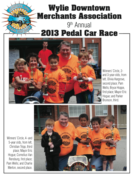 Pedal Car Winners 2013