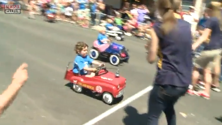 WDMA Pedal Car Race CW33 NewsFix 20150503b