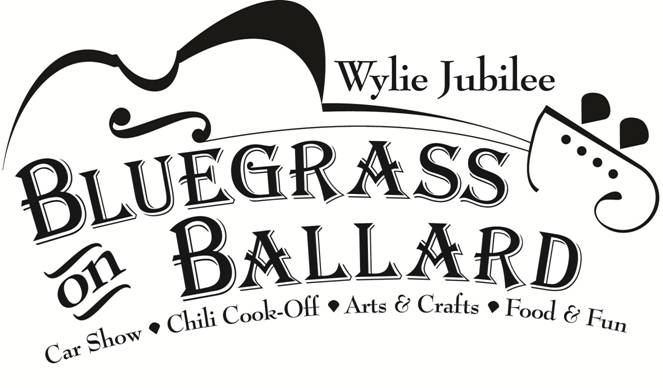 Wylie Jubilee-Bluegrass on Ballard Logo 2013
